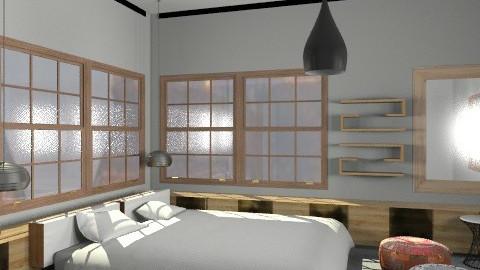 bedroom1 - Minimal - Bedroom  - by whateffer