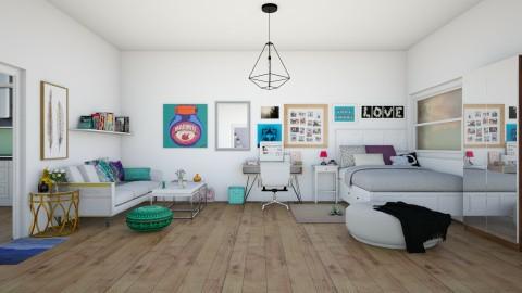 colours everywhere - Feminine - Bedroom - by Liberty Interior