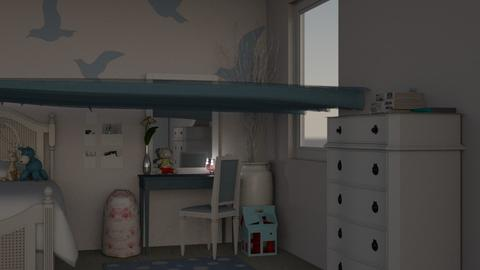 Bedroom Jovita - Kids room  - by Annathea