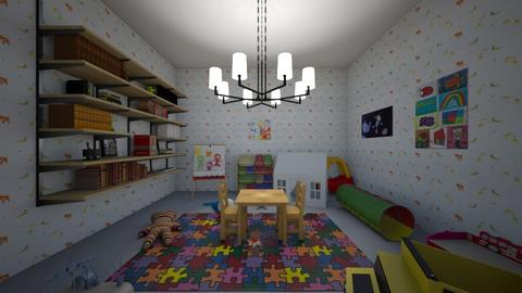 Family Room - Kids room  - by brifuentes0