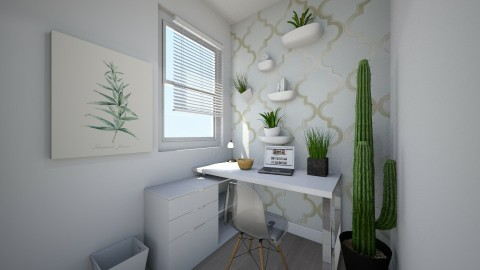 Modern Home Office - Modern - Office  - by Papaya Tree