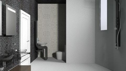 bath - Minimal - Bathroom  - by annikas