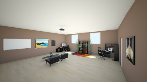 Stock Home Office - Modern - Office  - by hunteronstad