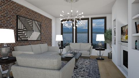Waterfront - Eclectic - Living room  - by Theadora