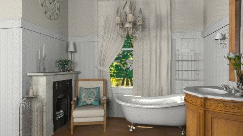 Antique Bath - Vintage - Bathroom  - by Baustin