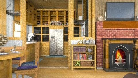 cozy lodge - Rustic - by blacknbloom