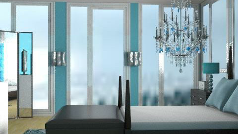 love...BLUE - Glamour - Bedroom - by juicygirl