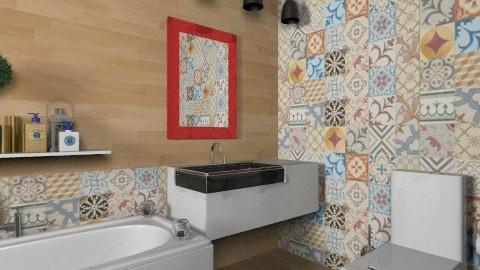 bathroom compose  - Vintage - Bathroom  - by Maria_Julia
