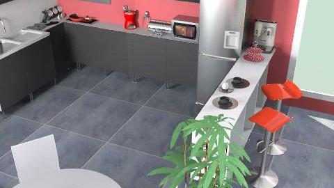 Kitchen Contest 5 - Minimal - Kitchen  - by FlowerPowerLX