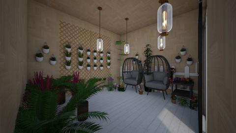 Jardin_para_relajarse  - Rustic - by peo y pichi