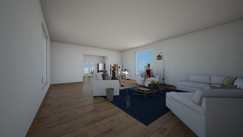 modern house - Modern - Living room  - by housedesigner1234