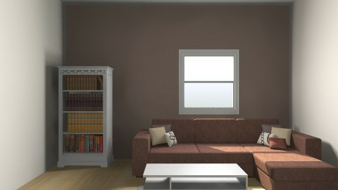 Brown - Retro - Living room  - by kat89