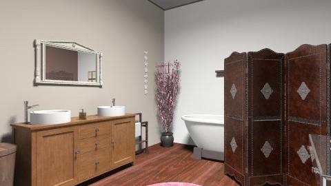 kupelna - Vintage - Bathroom  - by macka0020