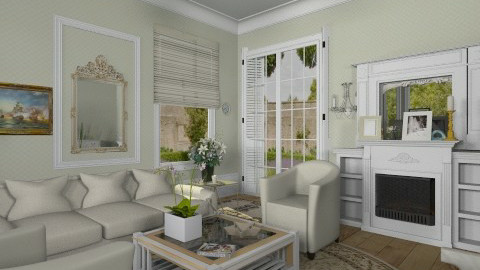 Abigel - Classic - Living room  - by milyca8