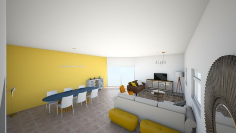 en cours  - Retro - Living room  - by Ines 66