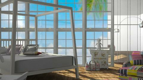 Chloe - Eclectic - Bedroom  - by Bohemia