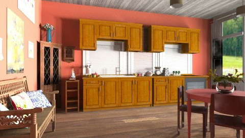 Kitchen - Eclectic - Kitchen  - by hetregent