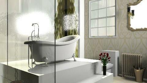 Provenza- bathroom - Rustic - Bathroom  - by Phoebe Ficer