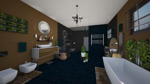 Earthy - Bathroom  - by tieganclayton