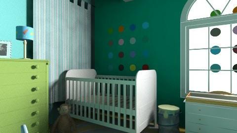 Nyala s room - Retro - Kids room  - by adiengaluh