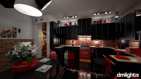 Black Beans - Classic - Kitchen  - by DMLights-user-981898