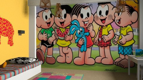 Turma da Monica - Modern - Kids room  - by HannaTOTE