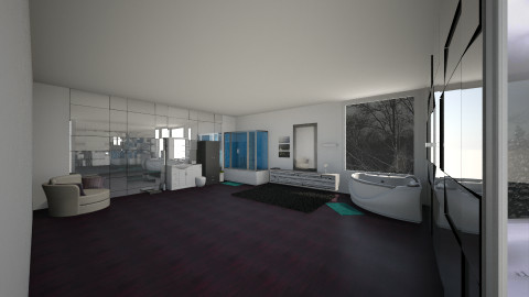 My awesome bathroom - Glamour - by lovebug9426