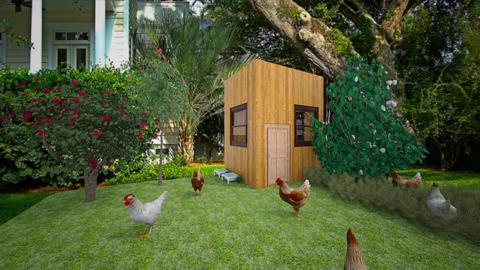 chicken area - Country - Garden  - by jade1111