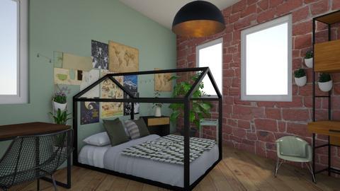 room Dreieck 17mai newnew - Vintage - Bedroom  - by ozgenmg_