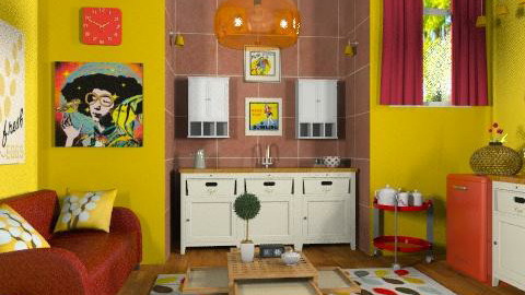 retro - Retro - Kitchen  - by RobertaS