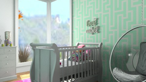 Baby's Nursury - Modern - Bedroom - by cara_98