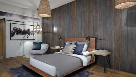 Remix_Icelandic bedroom  - Bedroom  - by Sparrowmoon