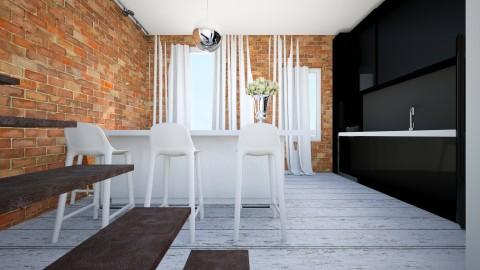 piekna4 - Retro - Kitchen  - by ewcia11115555
