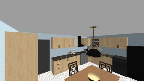 Mom and Dad Taupe Kitchen - Kitchen - by KaylaKennedy