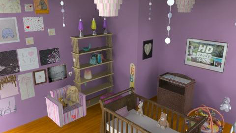 It's A Girl!!!!! - Modern - Kids room  - by caroline9