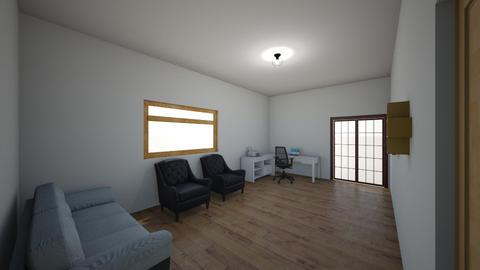 sala e escritorio - Classic - Living room  - by maaakson