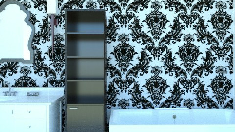 Sarah - Glamour - Bathroom  - by Serz2000