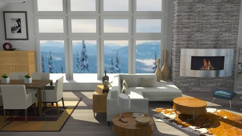 Après-Ski - Modern - Living room  - by LizyD