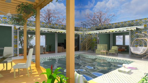 Space to Relax - Modern - Garden  - by Bibiche