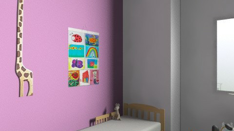 Lea's room  - Minimal - Kids room  - by ugottahaveadream