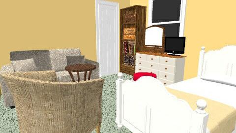 My Bedroom - Vintage - Bedroom  - by Sandra Prieto
