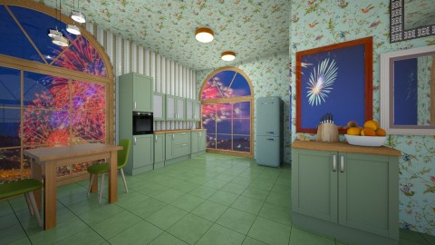 NewDesign - Classic - Kitchen  - by lori gilluly