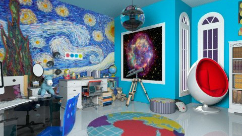 science kid - Global - Kids room  - by Veny Mully