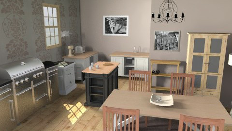 sophie lambie - Country - Kitchen  - by lambies
