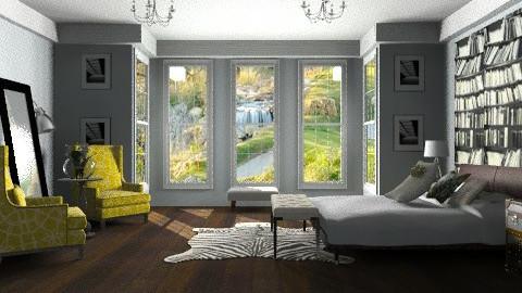 John Lewis - Glamour - Bedroom  - by Baustin