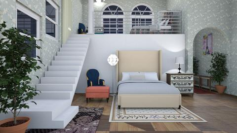 sisters - Bedroom - by Caye