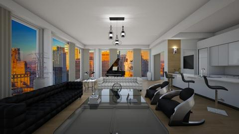 Justin Timberlake - Eclectic - Living room - by deleted_1574768015_Elenn