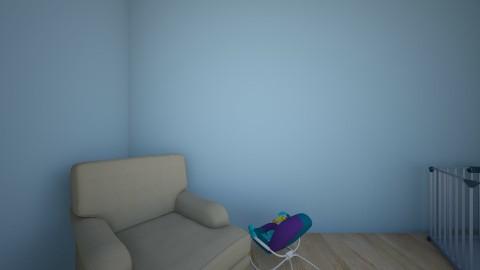 room baby mom3 - Kids room  - by Aleksandra Dziuba