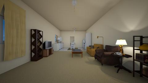 San Diego 2BR - Living room  - by mspence03