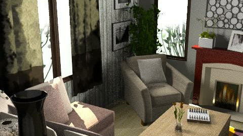 first ever :D - Classic - Living room  - by dominicjames
